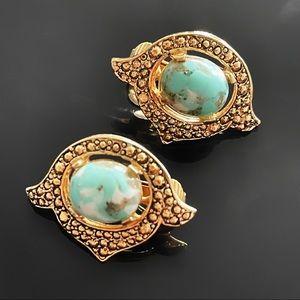 ✨VTG Signed Sarah Coy England Clip Earrings